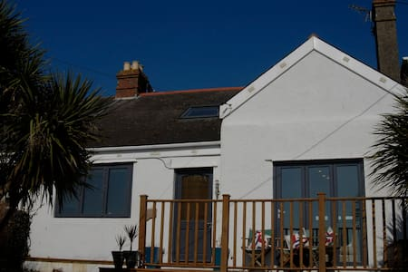Stylish cottage - a stroll from the beach - Bigbury-on-Sea - Hus