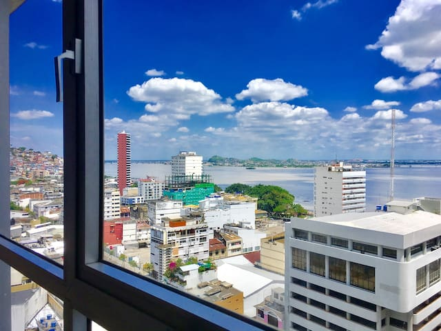 14th Floor River View | Downtown Guayaquil - Гуаякиль - Квартира