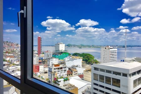 14th Floor River View | Downtown | Best Value - Guayaquil - Appartamento