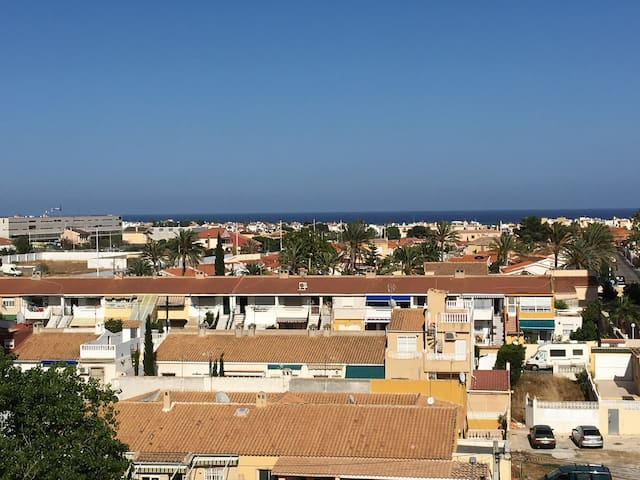 Central Torrevieja sea view.