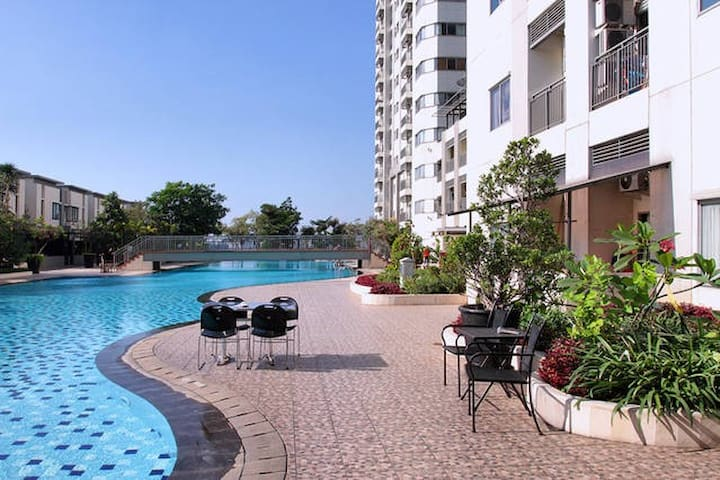 Best Location, Cheapest with Bedroom's City View - Tanah Abang - Byt