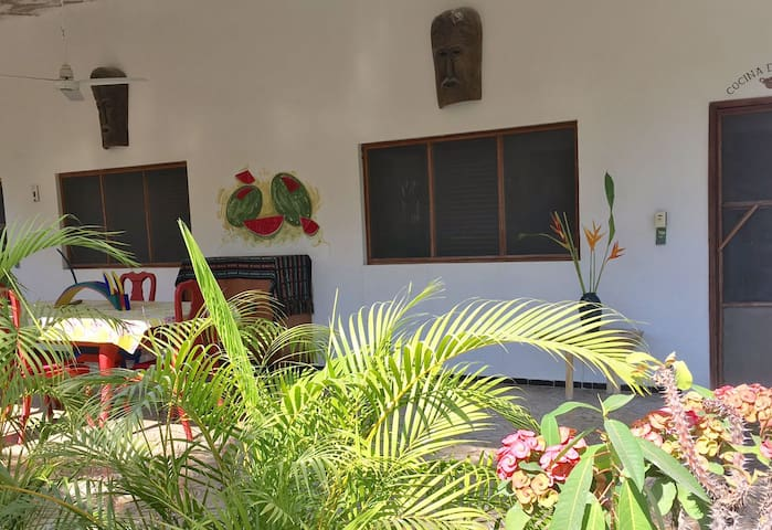 Casa del Sol my tropical home - San Patricio - Bed & Breakfast