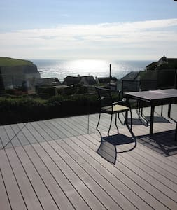 Stunning contemporary house with sea views - Mawgan Porth - Dom
