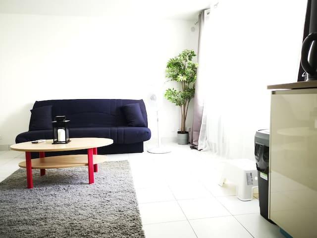 Studio de charme, à 30 minutes de Paris
