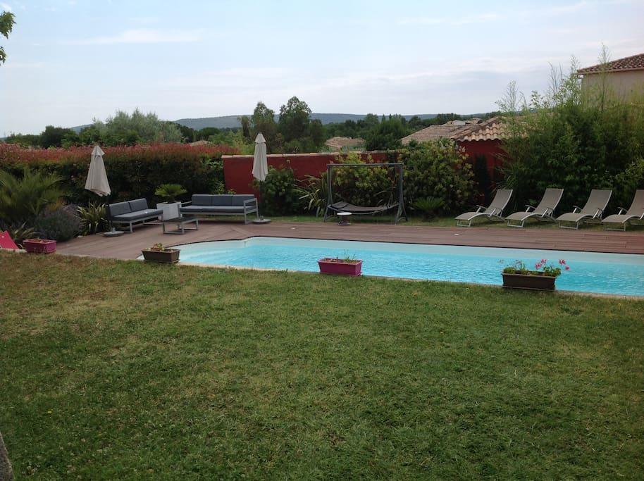 Superbe villa piscine montpellier sete 15 39 plages h user for Piscine privee montpellier