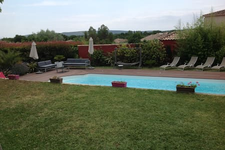 Superbe villa piscine Montpellier  SETE 15' plages - Cournonterral