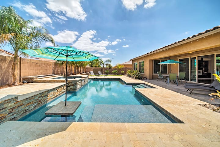 Chic Surprise Home w/Pool, Hot Tub & Putting Green
