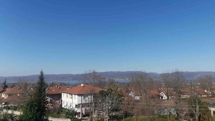 Cevizdibi Villas with a wonderful scenery