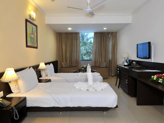Luxury Twin Bed Room @ Margao - Margao - Aamiaismajoitus