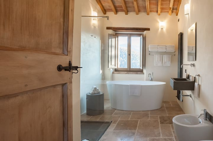 Tofanello Luxury close to Tuscany - Monte Santa Maria Tiberina - House
