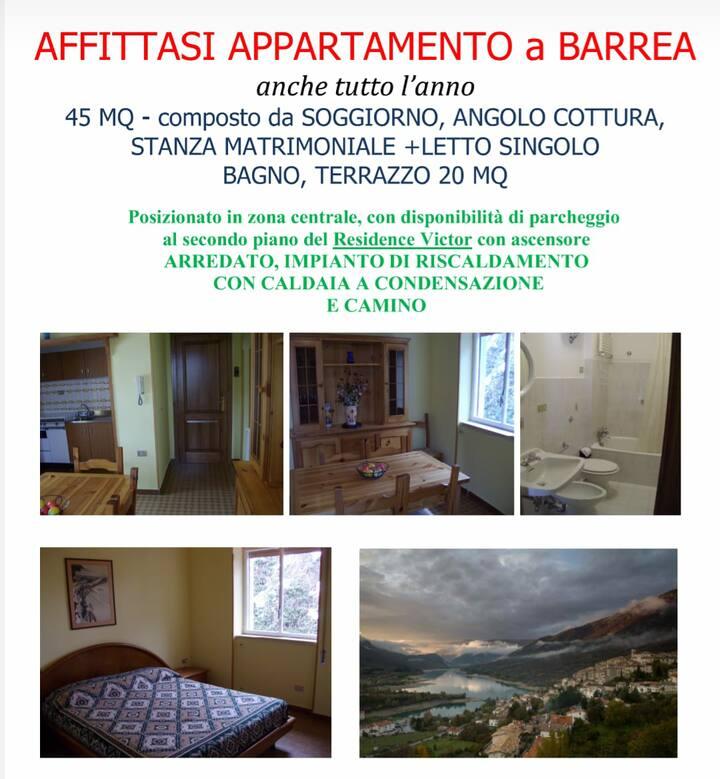 Appartamento a Barrea, Parco Nazionale d'Abruzzo.