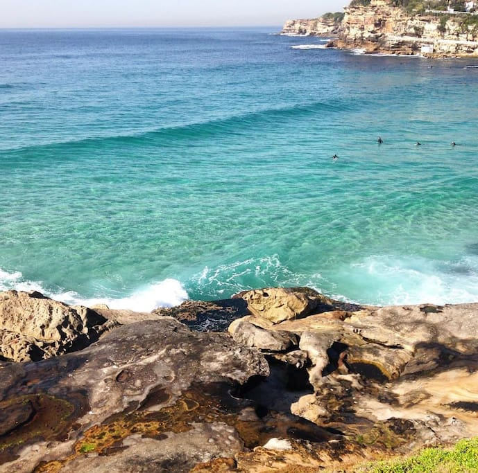 Bronte 5 minutes walk from house!