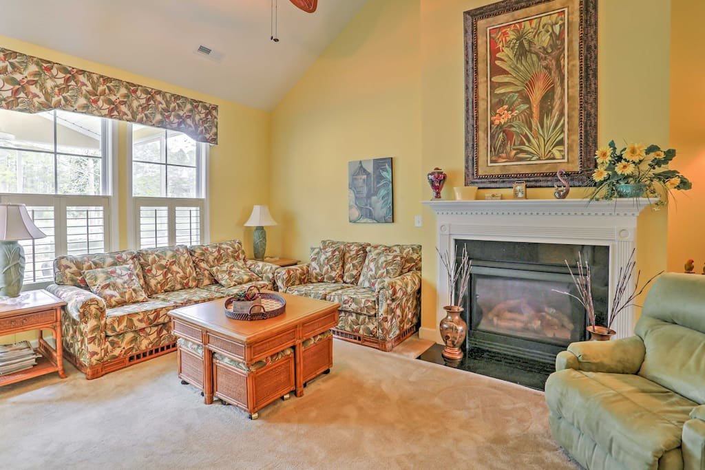 Inside, the home boasts 1,900 square feet of tastefully-decorated living space.