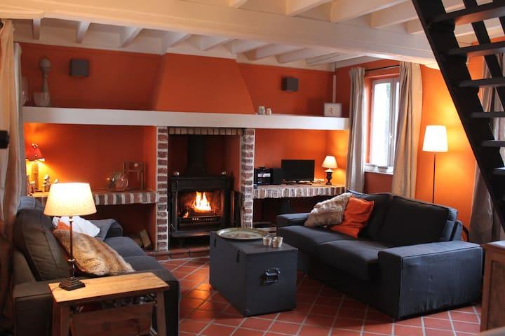 Maison de Charme, campagne proche de Lille - Sainghin-en-Mélantois - Casa