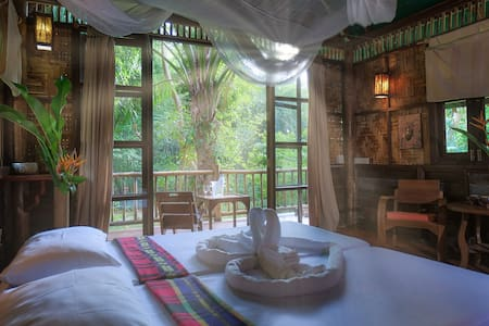 Our Jungle Camp - Eco Resort - Bungalow (Paddy View)