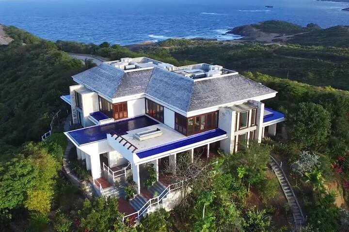 Entire Luxury Home, St Lucia Cap Estate, Sleeps 8