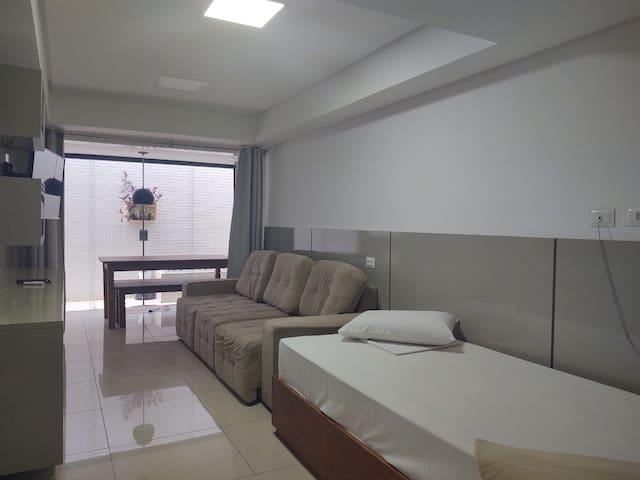 Apartamento no Cabo Branco, beira mar - 1 quarto