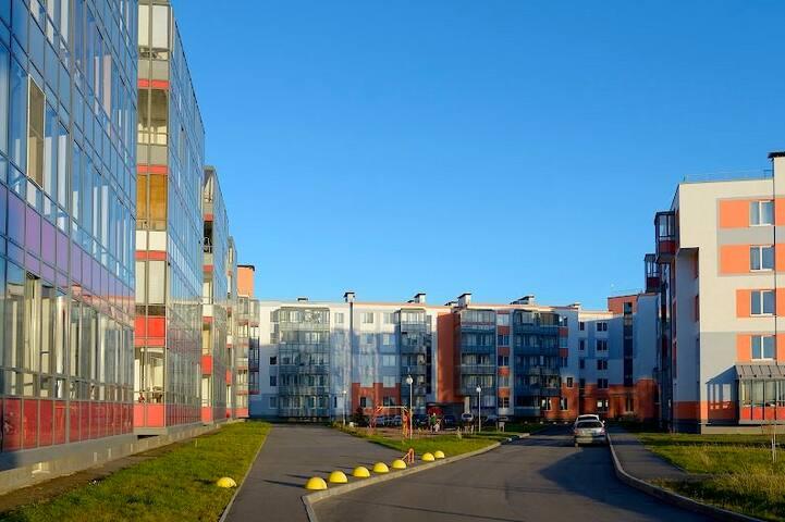 Квартира-студия в Петергофе - Petergof - Apartment