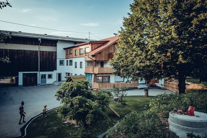Penthouse farm stay in Salzburg Lake District