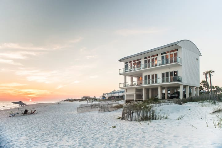 Gulf Paradise Beach Front 30A Luxury Rental