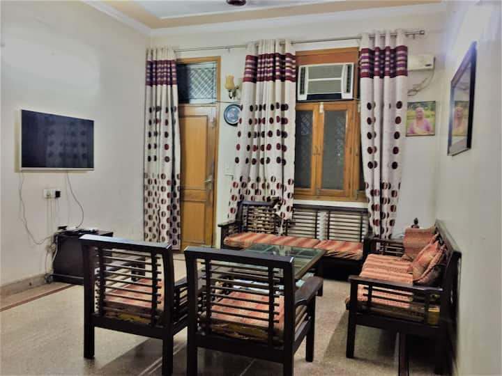 2 Bedrooms with private Hall and Balcony