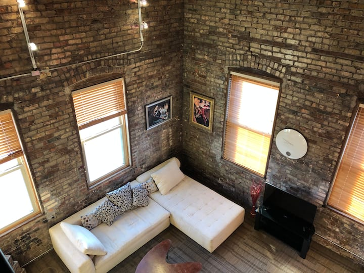 Exposed Brick Heaven Located Downtown