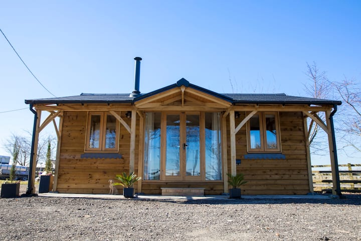 Gate House Lodge,  A bespoke lodge on a working farm!