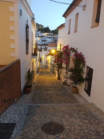 Calle del alojamiento