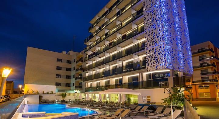 Hotel RH Vinaròs Aura-Doble Estandar con Desayuno