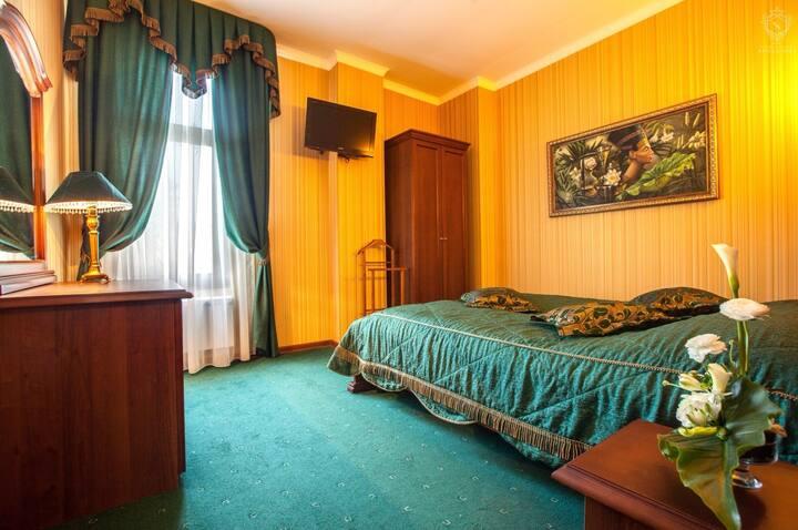 Двухкомнатные Апартаменты в замке на Чёрном Море
