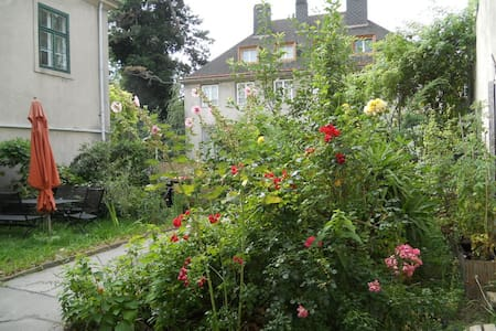 My home in Vienna - beautiful flair/flower garden - Wien - Wohnung