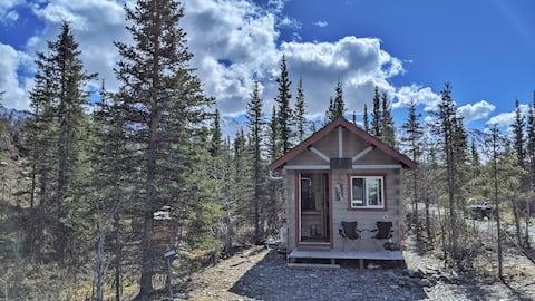 """Moose"" Cabin Mountain Getaway"