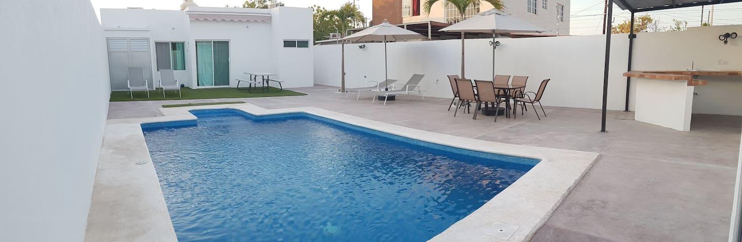 Centenario's HOUSE. Alberca privada La Paz BCS