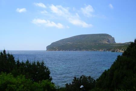 Capo Caccia Alghero Pischina Salida - Lejlighed