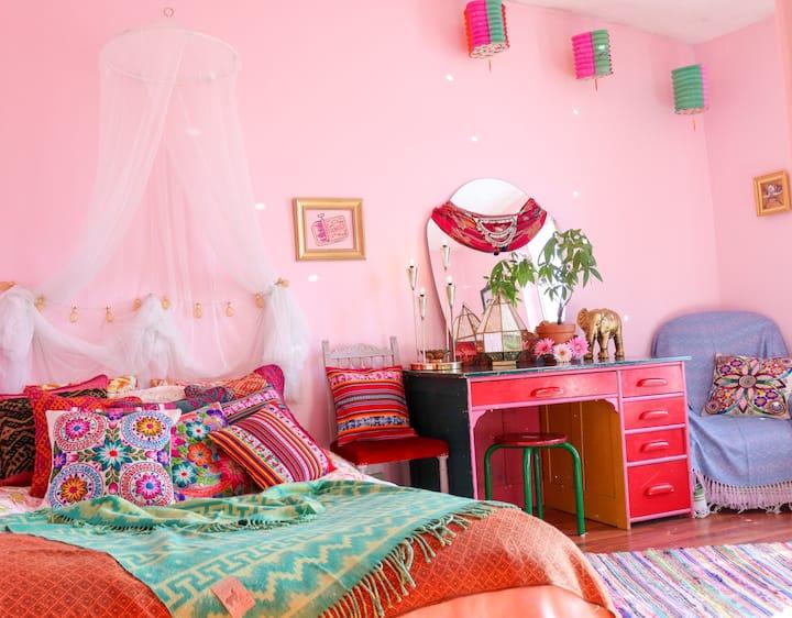 Chambre de rêve, magnifique appartement bohème