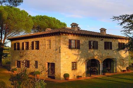 Lucignano Secondo - La Villa - Gaiole In Chianti - Villa