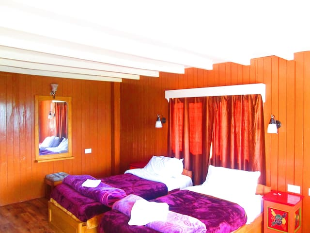 Lamthang Retreat cottage offers two twin bedrooms - Pelling - Huis
