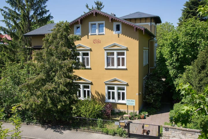 Apartment der Villa Elsa