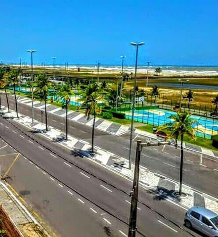 Apartamento em frente ao Mar na Orla de Atalaia - Aracaju - Pis