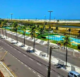 Apartamento em frente ao Mar na Orla de Atalaia - Аракажу - Квартира