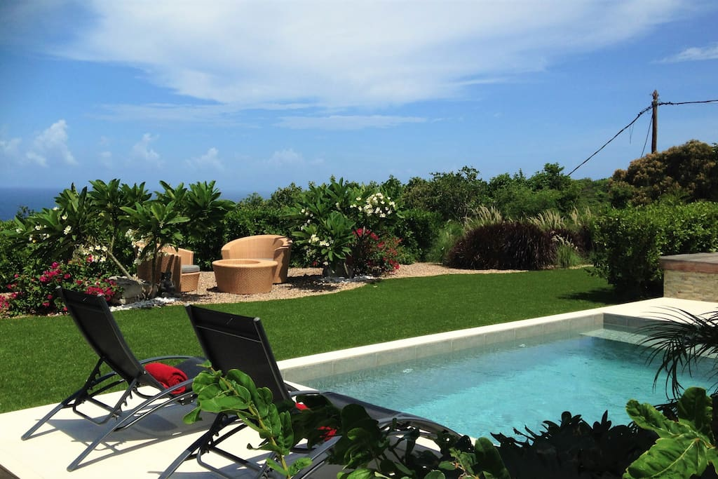 villa n 39 joy ville in affitto a saint barthelemy san bartolomeo. Black Bedroom Furniture Sets. Home Design Ideas
