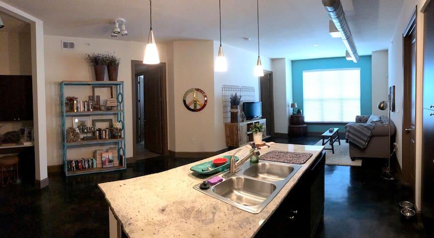 Private Room in Modern Apartment North Austin. - Round Rock - Huoneisto