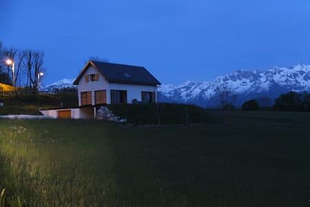 Maison contemporaine très belle vue à la montagne - Saint-Hilaire