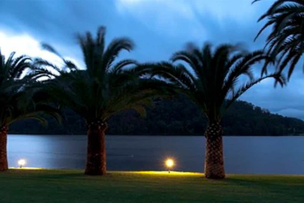 The river by night.