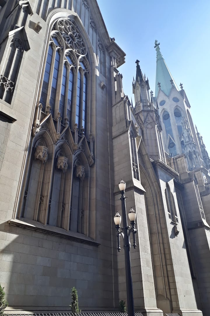 See Cathedral and its neo gothic