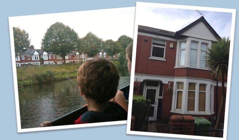 Family Home Sleeps 7 Ideal for City, Bay & Stadium - Cardiff - Dom