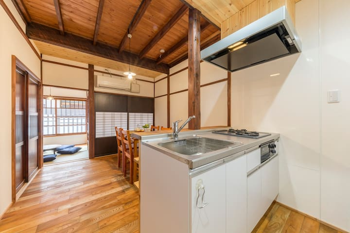 Spacious Japanese House/Free WiFi/3min.station - Chūō-ku - Casa