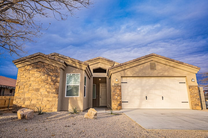 New modern home, centrally located!