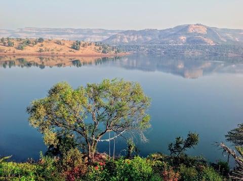 Cozy Lake View Cottage | GetLostInSerenity@Nisarg