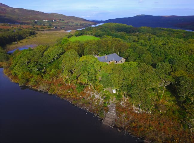 Cosy Hideaway on Scenic Lake in Kerry - Glenbeigh - Casa